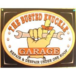 plaque busted garage clé outil tole publicitaire deco  usa
