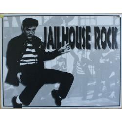 plaque elvis presley jailhouse rock rock du bagne tole métal