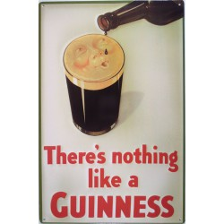 plaque guinness there nothing like tole pub deco bar irlande
