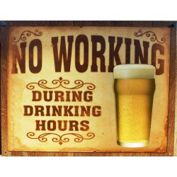 plaque no working during drinking hours tole bar humour usa