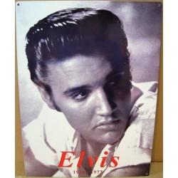 plaque elvis presley 1935 1977 en rouge rock roll usa king