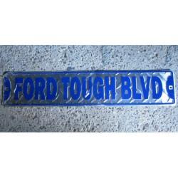 plaque de rue ford bleu