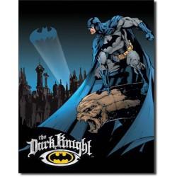 plaque super hero batman the dark knight tole affiche pub us