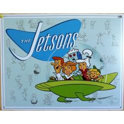 plaque the jetsons sosucoupe volante dessin animée deco usa