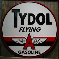 plaque tydol  flying gasoline 60cm tole pub deco metal garag