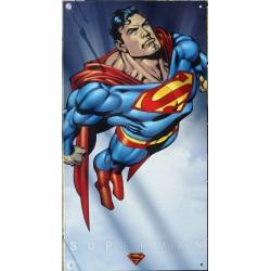 plaque super hero superman en train de voler affiche usa