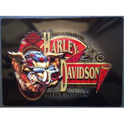 plaque Harley Davidson cochon pig embleme hd biker usa