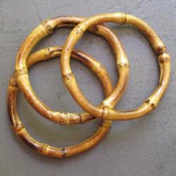lot 3 bracelets en bambou ideal pin up rockabilly femme
