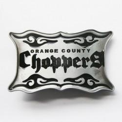 boucle de ceinture orange county choppers occ noir moto