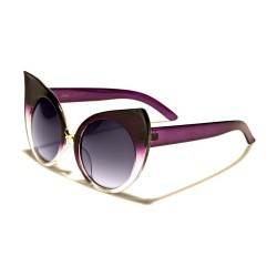 lunette de soleil femme cat eye vieux rose noir ideal pin up