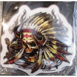 sticker pin up stewed screwed & tattooed autocollant rock