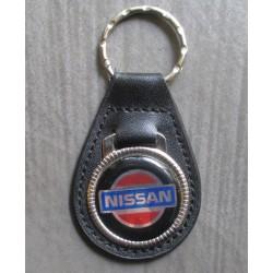 porte clé métal cuir nissan auto  juke patrol 240 280 z