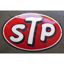grosse plaque emaillee stp t logo ole email pub deco americaine usa
