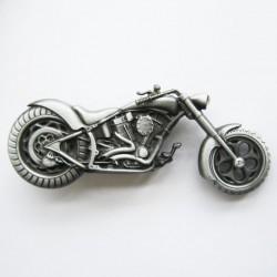 boucle de ceinture moto chopper alu homme femme biker