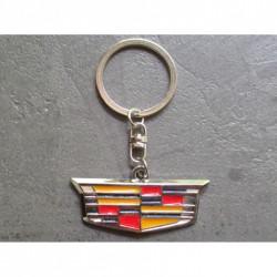 porte clé cadillac blason logo en metal voiture americaine usa