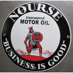 plaque alu nourse motor oil business is good tole metal garage huile pompe à essence