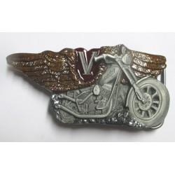 boucle de ceinture chrysler doré officiel voiture US  homme femme