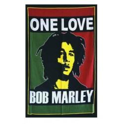 drapeau bob marley one love150x90 nylon reggae music