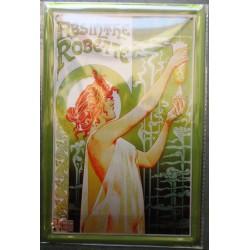 plaque absinthe robette 30x20cm  boissonn alccolisée tole publicitaire metal pub