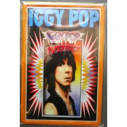 plaque groupe  iggy pop hard rock roll musique tole publicitaire metal pub fan artiste
