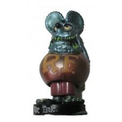 figurine rat fink tete gris bleu pastel corp rouge finition décoloré rare usa